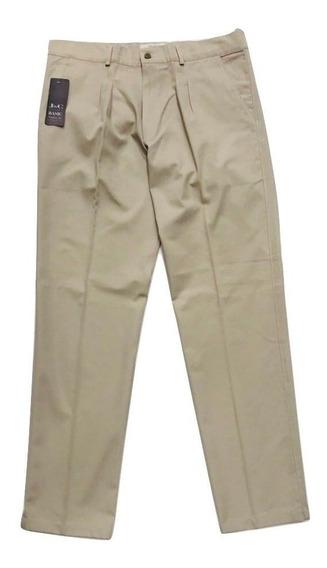 Pantalon De Gabardina Pinzado Excelente Calidad