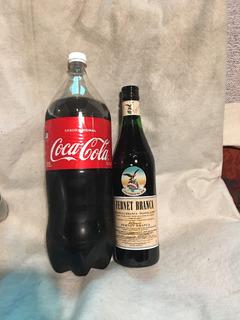 Fernet Branca 750 + Coca 2 1/2 Lts Listo Para Servir
