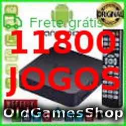 Tvbox Emulador Snes Megadrive Neogeo +11800jgs Envio P Email - Não É Tv Box(aparelho)