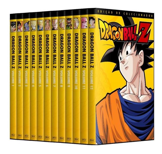 Dragon Ball Z - Coleção Completa Em Dvd