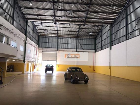 Galpão Industrial À Venda, Jardim Ruyce, Diadema. - Ga0132