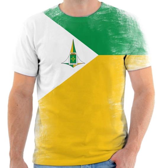 Camiseta, Camisa Bandeira Brasilia Distrito Federal 2