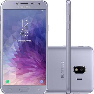 Samsung Galaxy J4 Prata,5,5 , 4g, 32gb 13mp - Smj400
