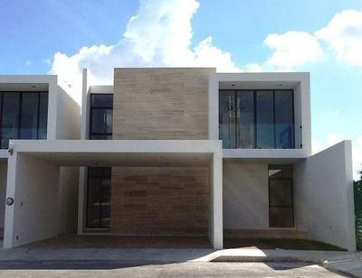 Venta De Residencias Nuevas En Privada El Triunfo, Cholul, Mérida