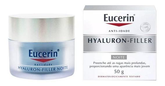 Eucerin Hyaluron Filler Noite Creme Antiidade 50g - Original