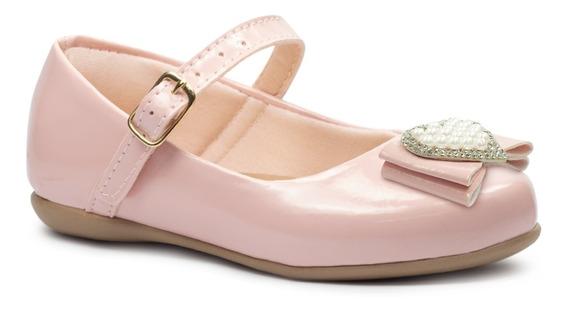 Sapatilha Infantil Feminina Sapato Criança Rasteira Moda 05