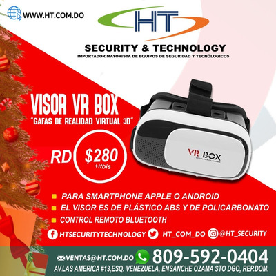 Visor Vr Box (gafas De Realidad Virtual 3d)