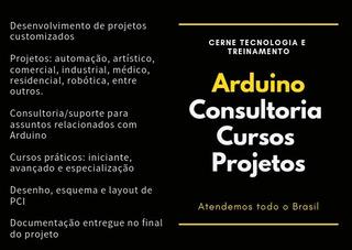 Arduino Avançado | Curso Centro Do Rio De Janeiro