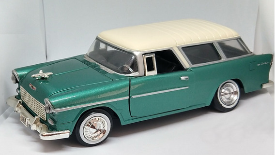 Miniatura Chevy Bel Air Nomad 1955 1/24 Motormax