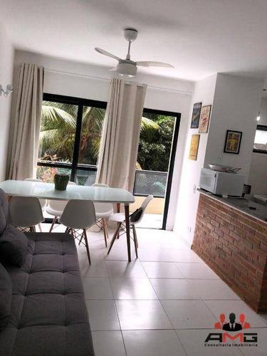 Imagem 1 de 30 de Apartamento Com 2 Dormitórios À Venda, 63 M² Por R$ 850.000,00 - Riviera - Módulo 6 - Bertioga/sp - Ap0131