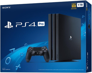 Ps4 Pro 1tb. Control, Cable Hdmi, 4k. Nueva Y Sellada.