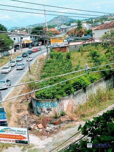 Imagem 1 de 6 de Terreno À Venda, 2200 M² Por R$ 2.800.000,00 - Campo Grande - Rio De Janeiro/rj - Te0199