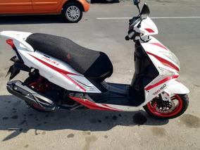 Italika Trn 2015, 150cc, Blanco/rojo- Sound System
