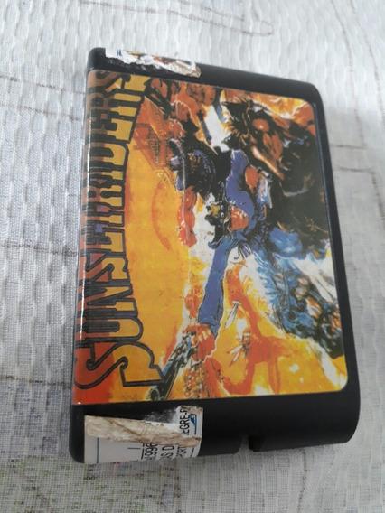 Sunset Riders Mega Drive Genesis Campinas