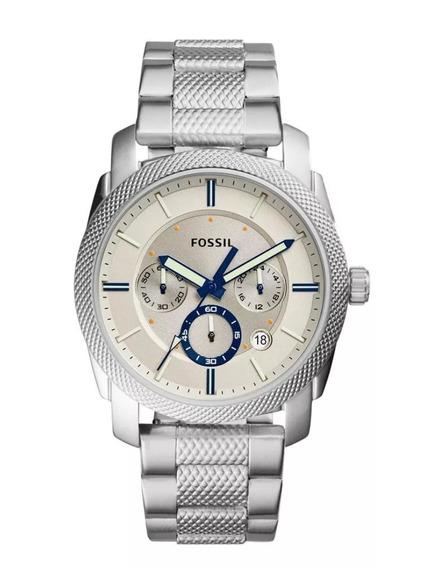 Relógio Fossil Masculino Machine -Fs5324/1bn