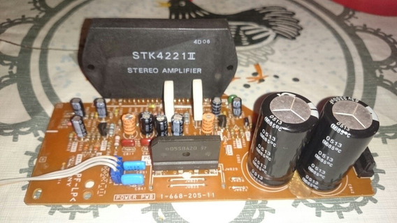 Placa Amplificadora Com Stk Sony