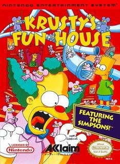 Pôster Video Game Retrô Nintendo Nes Acclaim Krusty House