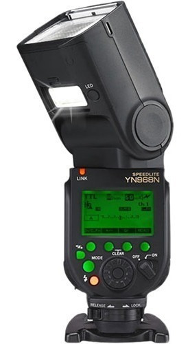 Flash Yongnuo Yn 968n Led Auxiliar Ttl Nikon