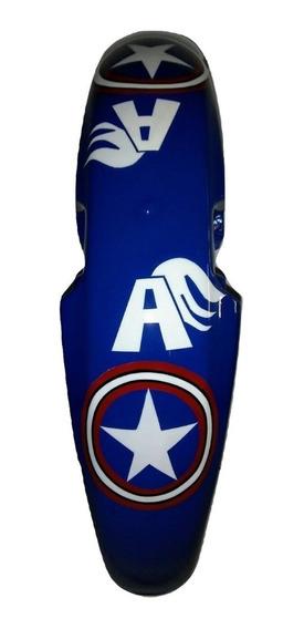 Paralama Personalizado Titan 125 Fan Capitão América Barato Grafitado Novo Barato