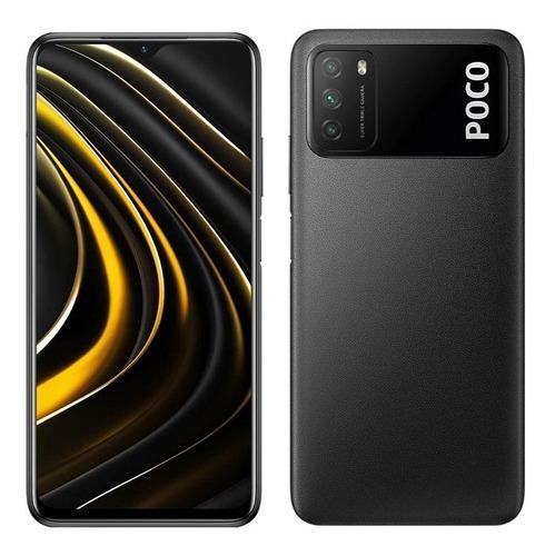 Celular Xiaomi Poco M3 / 64gb / 4gb / 48mp / 4g + Forro