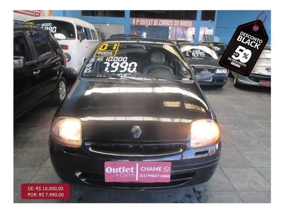 Renault Clio 1.0 Rn 8v Gasolina 4p Manual