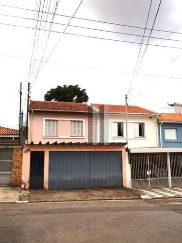 Sobrado Com 3 Dormitórios À Venda, 185 M² Por R$ 970.000,00 - Planalto Paulista - São Paulo/sp - So1445