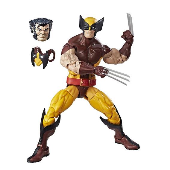 Kit Marvel Legends Vintage Retro Wolverine E Iron Man