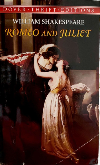 Livro Romeo And Juliet De William Shakespeare Inglês B2492