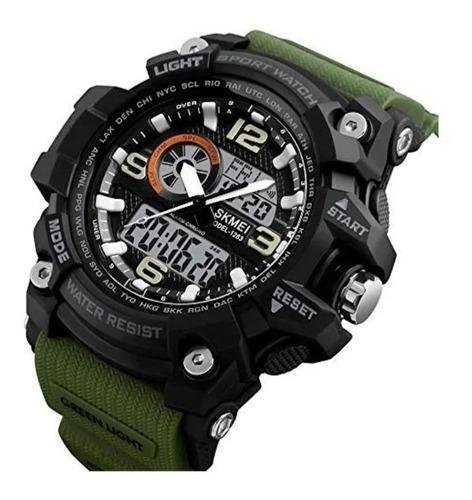 Relógio Masculino Esportivo Analógico E Digital Marca Skmei