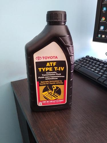Aceite Toyota Type Iv