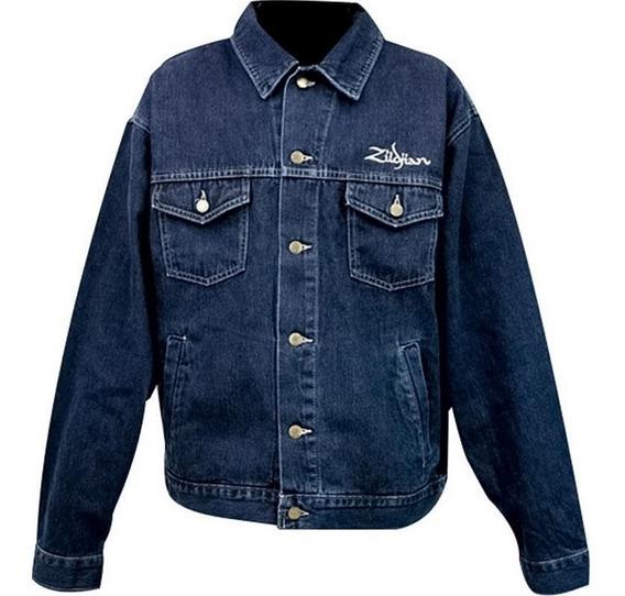 Jaqueta Zildjian Blusa Jeans Blue Jack T3914 Large G Grande