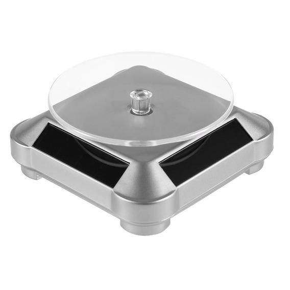 Mostruário Solar Rotativo Jóias Relógio Anel Exibição S