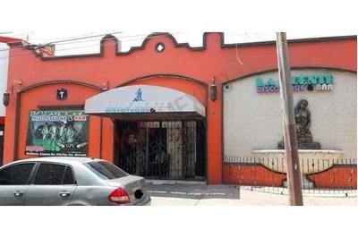 Disco Bar Completo Y Funcional, Por Blvd. Emiliano Zapata, Con Dos Niveles N Parte Laterales De Pista