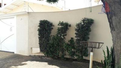 Casa Residencial À Venda, Vila Santa Maria, Americana. - Codigo: Ca0552 - Ca0552