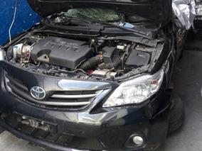 Sucata Toyota Corolla 2011 2012 2013 2014 Somente Peças