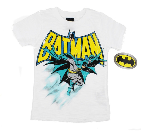 Playera Batman Clasico Dc Comics Original