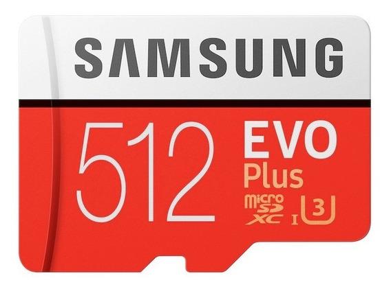 Cartão De Memória Samsung Mb-mc512ga/eu Evo Plus Sd 512gb