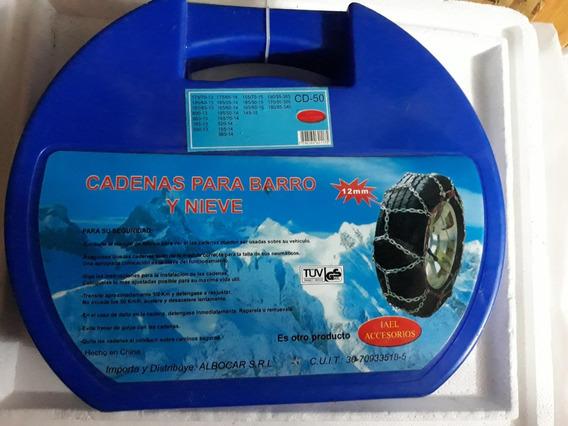 Cadena Para Nieve Y Barro- 12mm Auto -rodado 13,14,15