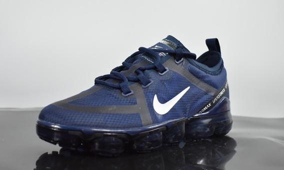 Zapatillas Nike Air Vapormax Azul Marino Y Negro 2019 Nuevo