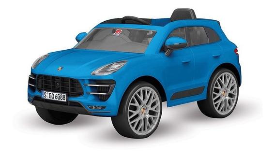Veículo Elétrico Com Controle - 12v - Porsche - Macan - Azul