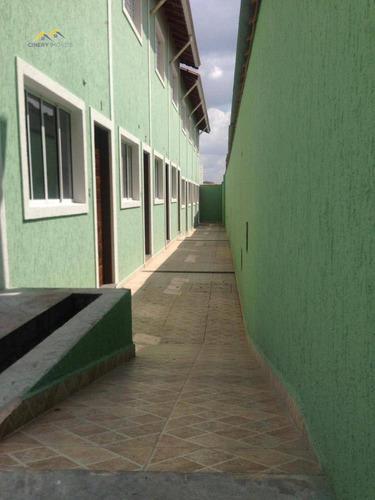 Sobrado Com 2 Dormitórios À Venda, 65 M² Por R$ 295.000,00 - Penha De França - São Paulo/sp - So0019