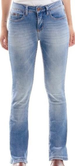 Calça Jeans Feminina Horse Culture Bruta Bootcut Escaramuça
