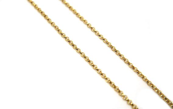 Elo Português Ouro 18k Com 60cm