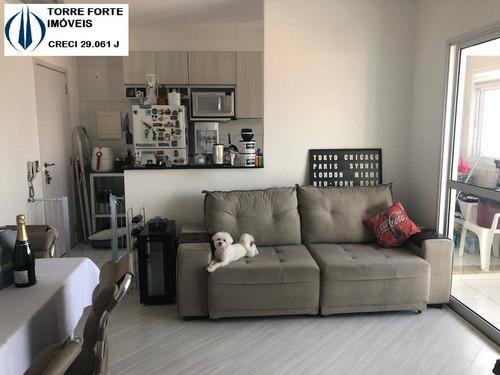 Imagem 1 de 15 de Apartamento Com 2 Dormitórios, 1 Suíte E 1 Vaga No Sapopemba - 2434