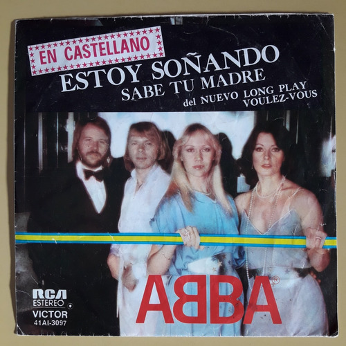 Abba / 7 / Estoy Soñando / Rca Victor / Argentina / Español