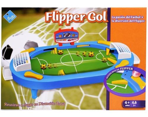 Juego Mesa Futbol Flipper Gol Original Toy Cod 6150 Bigshop