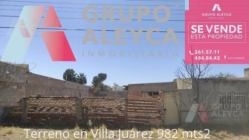 Imagen 1 de 3 de Terreno - Villa Juárez