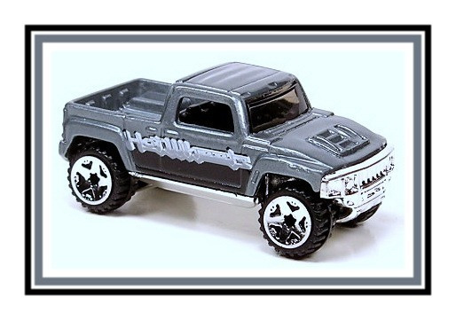 Hot Wheels- Hummer H 3 T - 2006 - #173 - ¡ Único En M. L. !