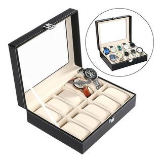 1 ~ 5 X 10/18 Rejilla Pantalla Estuche Caja Para Reloj Gafas