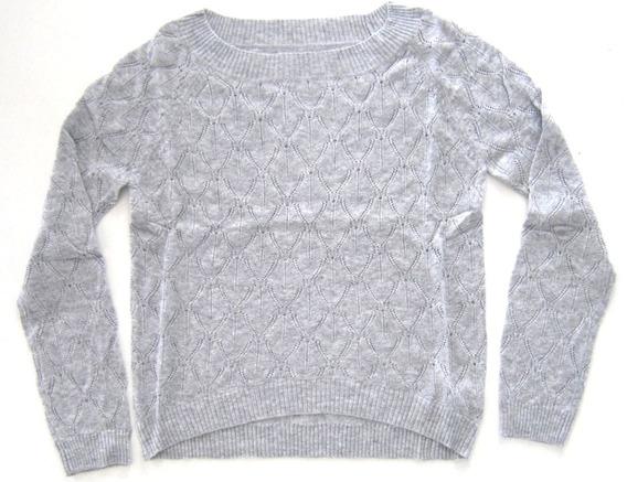 Sweater Escote Redondo Rombos